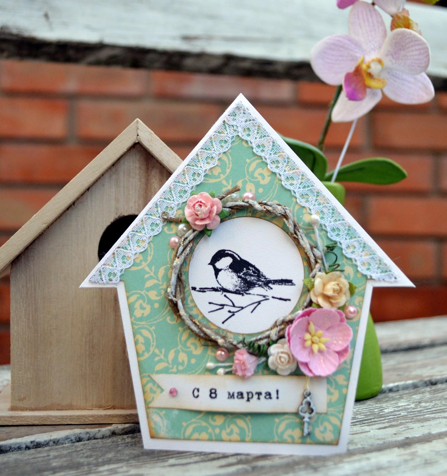 Деревянные открытки shensee