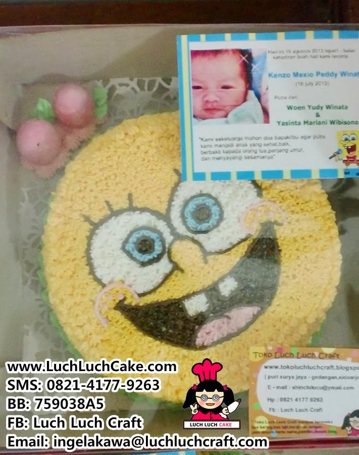 Kue Tart untuk pesta anak Daerah Surabaya dan Sidoarjo