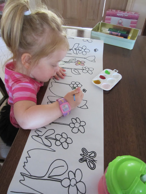 fine motor skill practice, activities for kids, painting for little kids