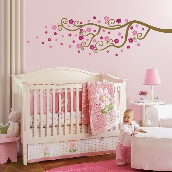 Baby nursery wall paint ideas for Painting your room ideas