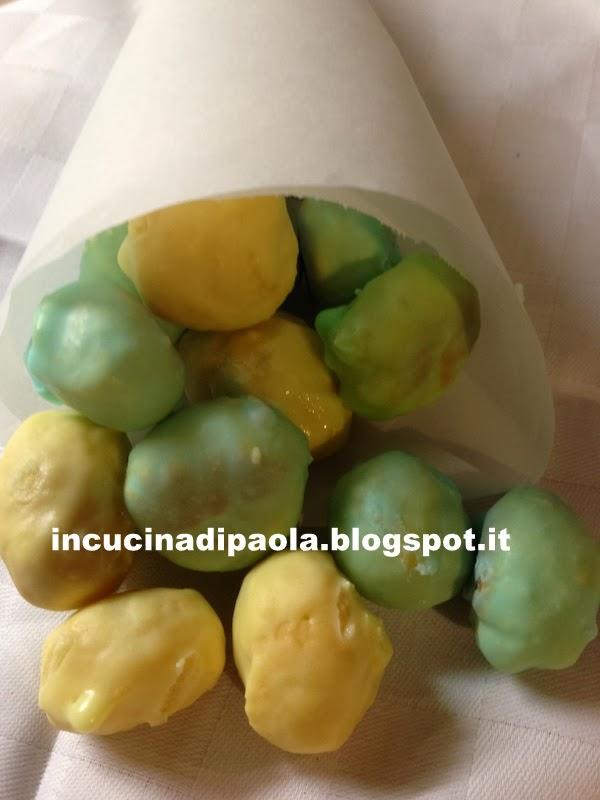coriandoli dolci