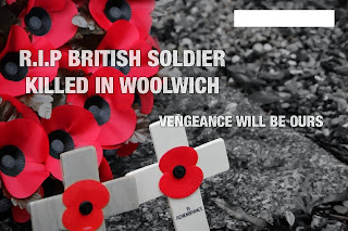 Murdered British Soldier Lee Rigby remembrance day revenge meme