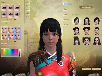 ArcheAge - Character Creation Style