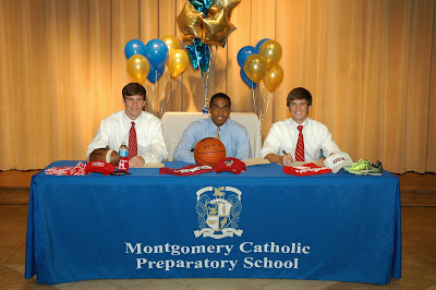 Montgomery Catholic Honors Students at Signing Ceremony 1