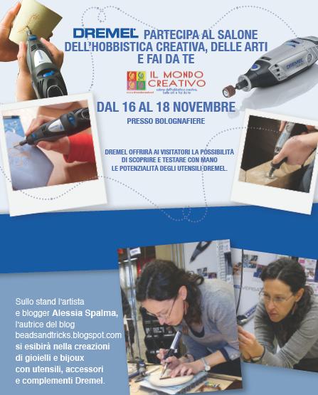 Dremel e Beads and Tricks dimostrazioni a Bologna