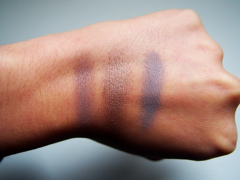 cream eyeshadow swatches
