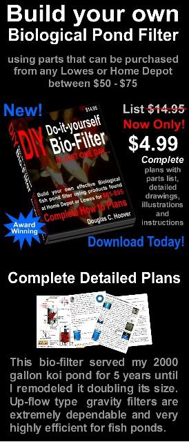 Diy bio filter do it yourself biological pond filter for Biological pond filter design
