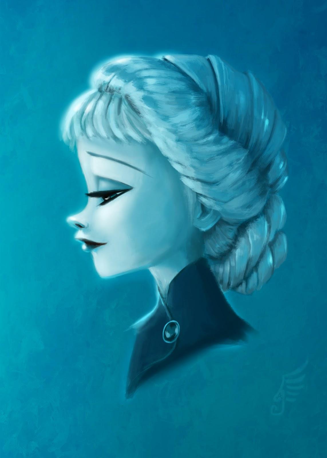 Gabrielle Andhita Queen Elsa