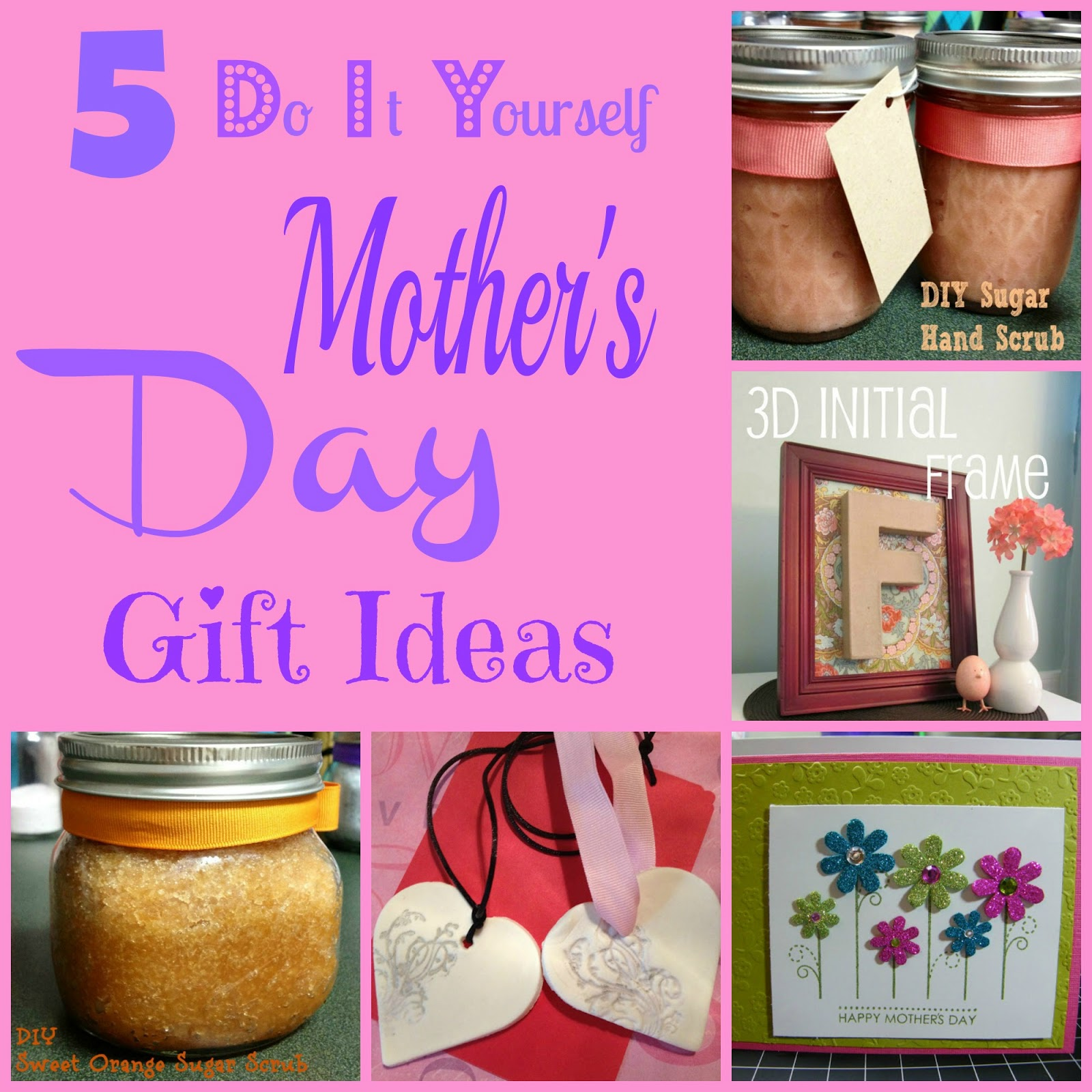 5 diy mother 39 s day gift ideas outnumbered 3 to 1 Mothers day presents diy