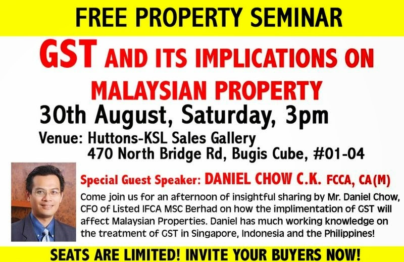 GST And its implications on Malaysian property
