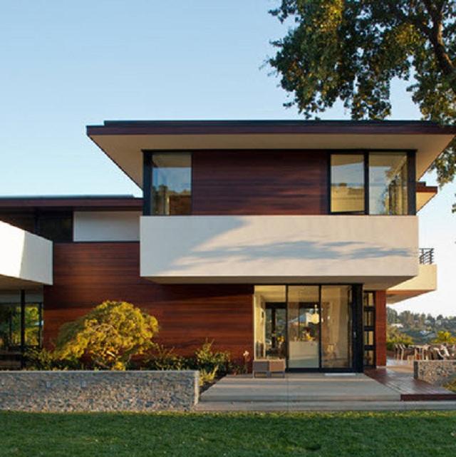 Fachadas de casas modernas orientales fachadas de casas for Casas contemporaneas modernas