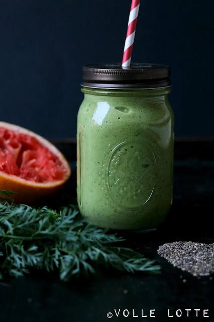 Green Smoothie, grüne Smoothie, gesund, superfood, schnell, smoothies, vitamix