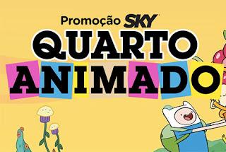 Participar promoção Sky 2015 Quarto Animado
