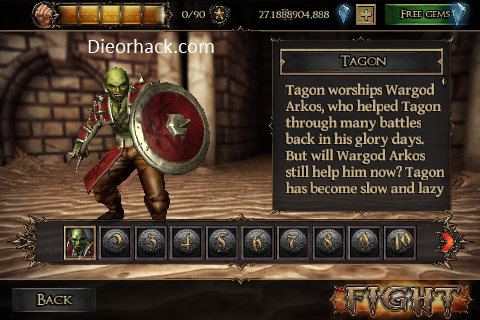 dieorhack com rage of the gladiator ios hack cheats unlimited