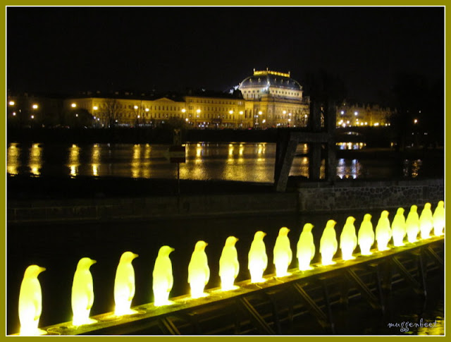 zicht op Nationaal Theater Praag