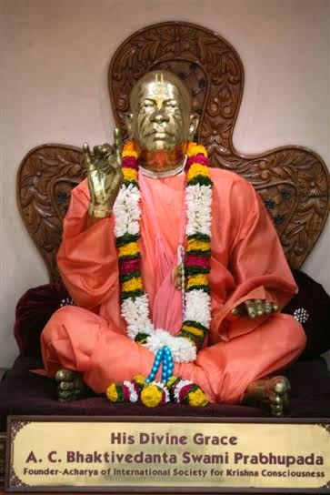 Close view of HDG A.C.Bhakivedanta Swami Srila Prabhupada