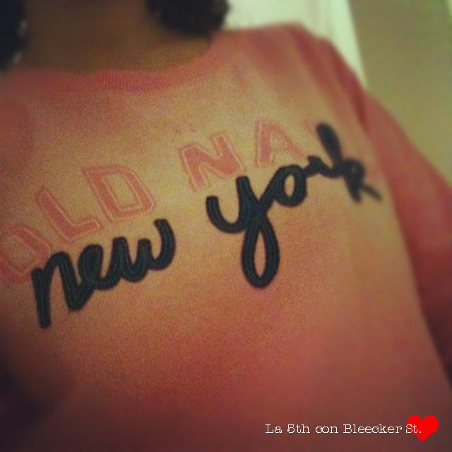 Sorteo!! Sudadera de New York