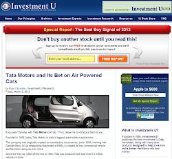 Investisseurs - Mars 2012