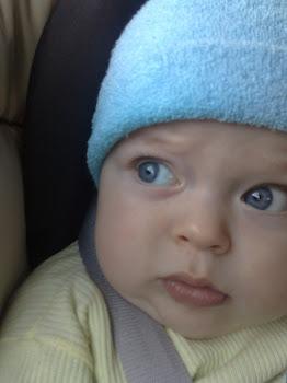 Samuel com cinco meses