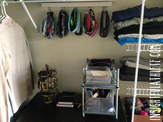 ... Away Tamers, Lululemon Bang Busters, And Some Generic Goodies Skinny  Bands. My Beach Towels And Yoga Towels Are Up On Top, Along With My Foam  Roller, ...
