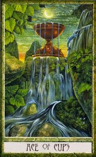 Ace of Cups, Druidcraft Tarot