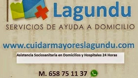 Servicio Domestico Itziar CuidarMayoresLagundu.com