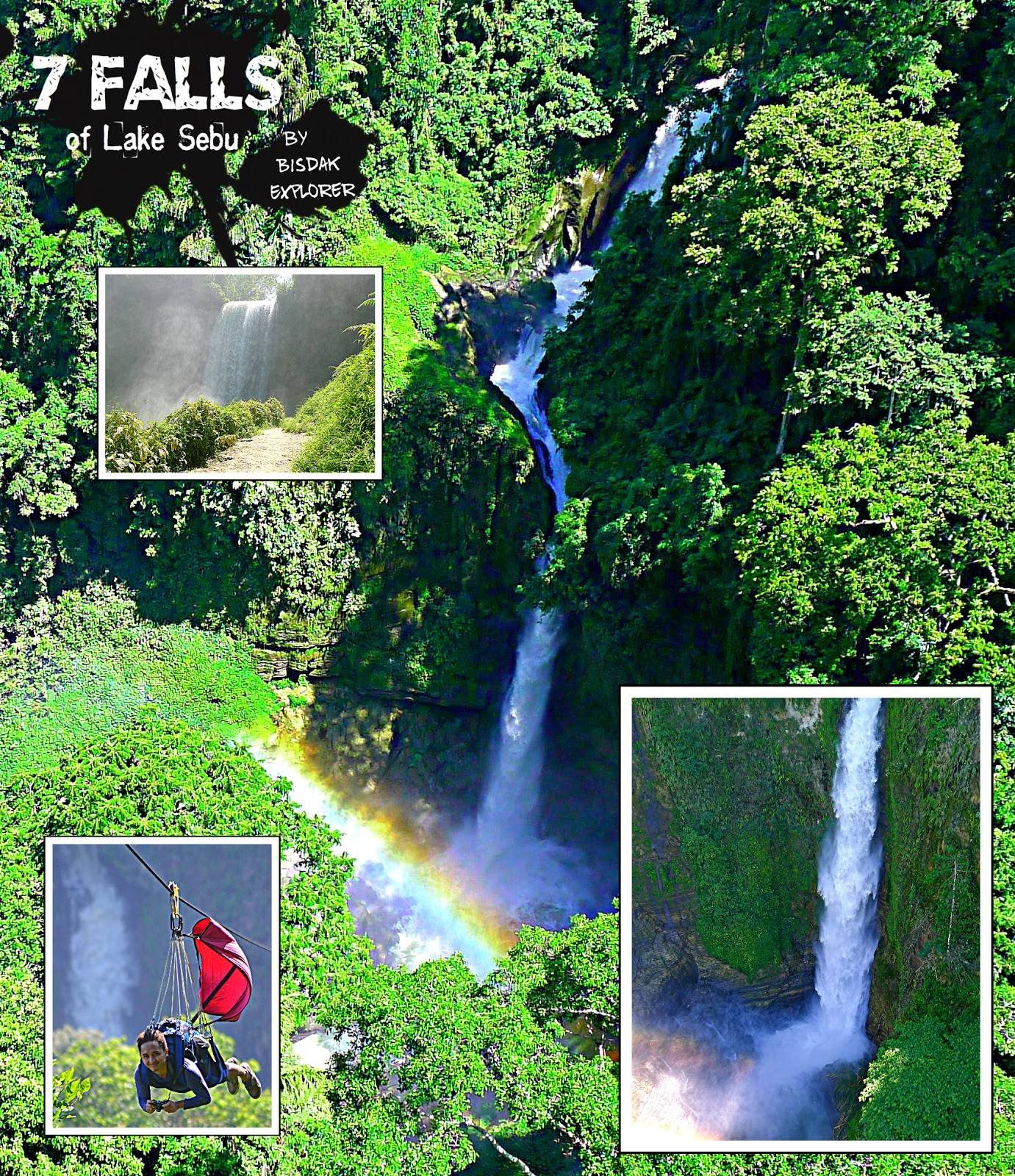 Fabled 7 falls in lake sebu bisdak explorer hidden in the valley and mountains of lake sebu is the most extraordinary wonder of nature that has unique trait of both power and beauty thecheapjerseys Gallery