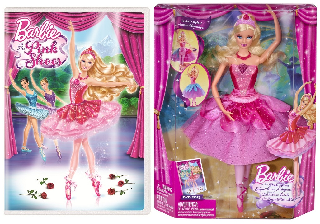 Barbie in the Pink Shoes giveaway