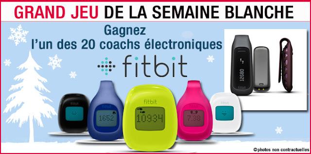 20 coachs électroniques Fitbit