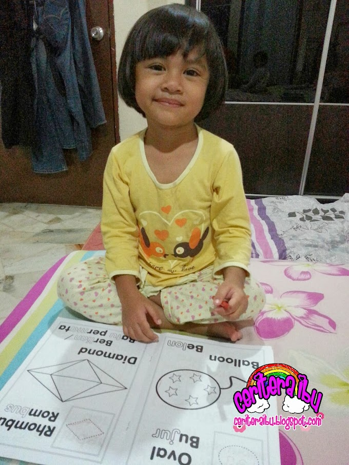 Homeschooling :: Kakak Imani Excited Nak Gi School