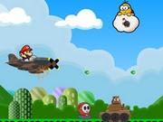 Mario Airship Battle | Juegos15.com