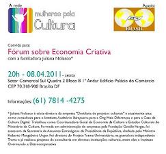 Fórum Sobre Cultura Criativa