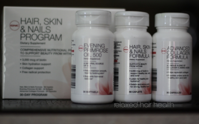 GNC Hair Skin and Nails Program: Creating Beauty from the inside ...