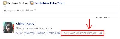 sahabat tertarik untuk Update Status Facebook Melalui Aplikasi Sendiri ...