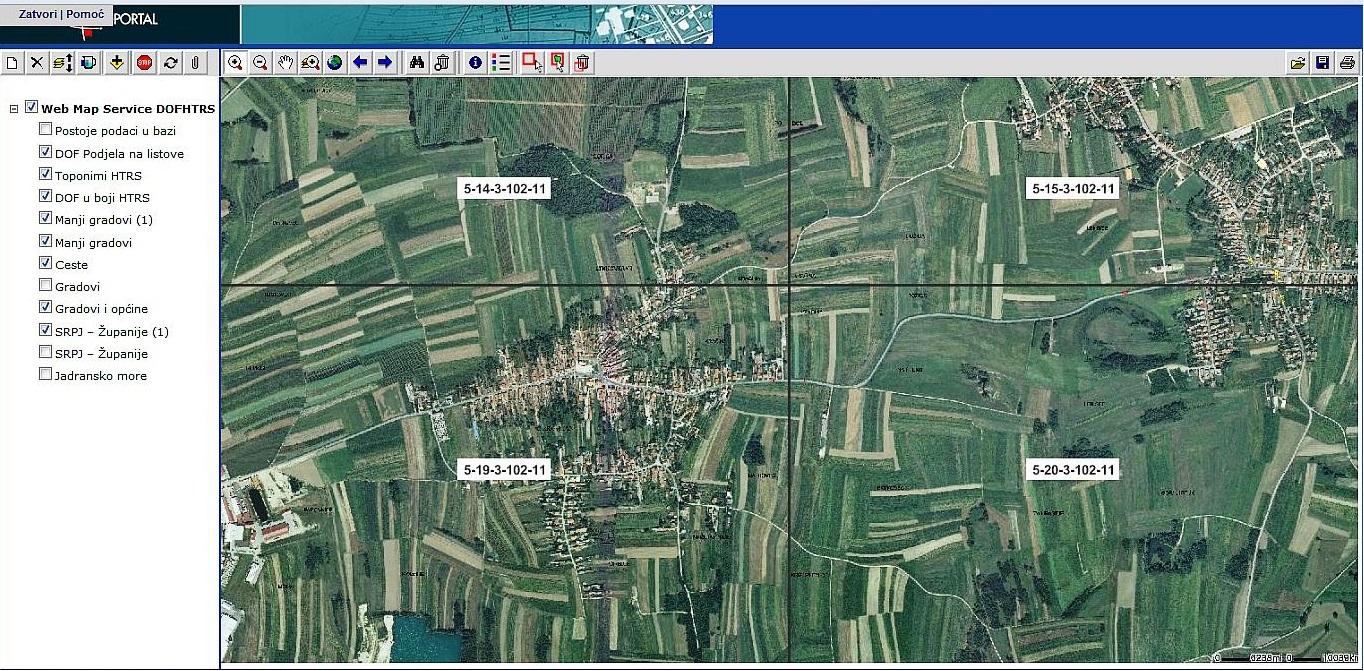 Geoportal DGU | Online Preglednik | Katastar