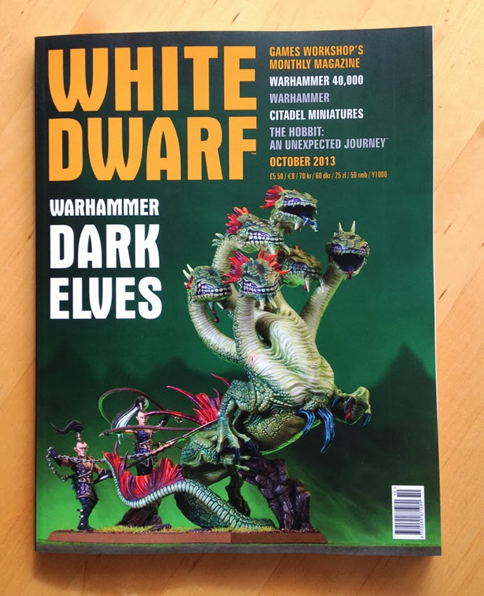 Review: White Dwarf - October 2013 - Tale of Painters