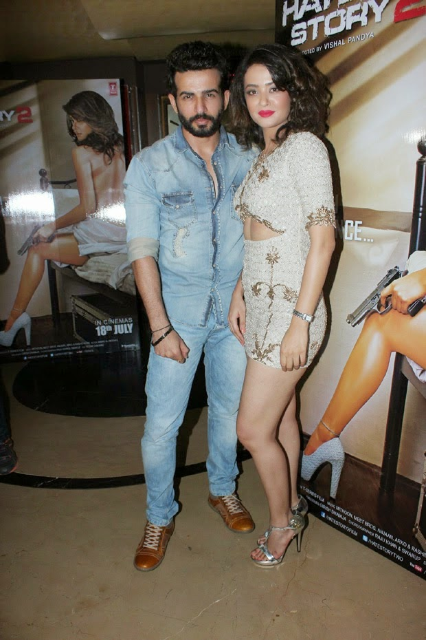 Surveen Chawla - Hot Photos at Hate Story 2 First Look Launch