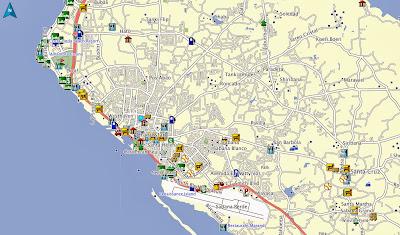 Oranjestad, Aruba, Garmin, Map, GPS, TomTom