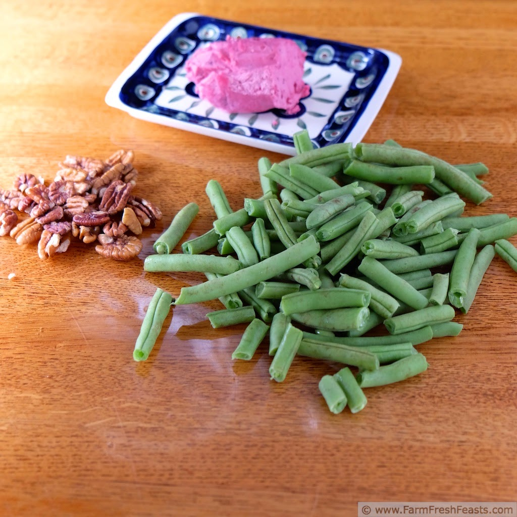 recipe: green beans with pecans and cranberries [28]