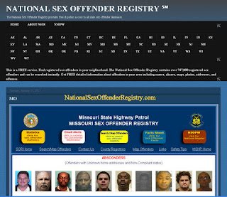 national sex offender public registry website