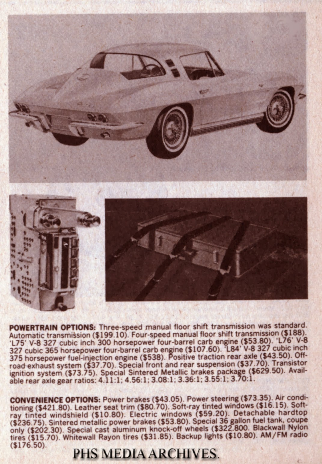1963 1967 corvette radio buyer s guide phscollectorcarworld rh phscollectorcarworld blogspot com