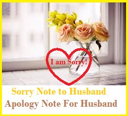 Am Sorry Message To My Husband