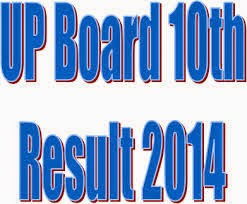UP Board High School Results 2014