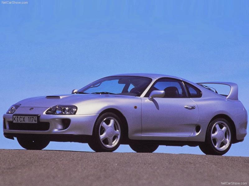 صور سيارات تويوتا سوبرا 1996