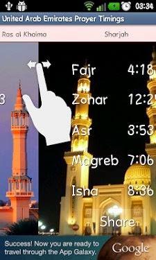 Prayer time ajman