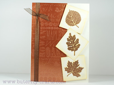 Autumn Card Challenge