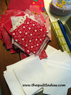 Making a Red and White Quilt