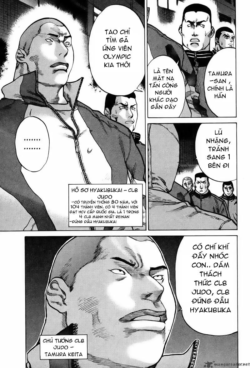 Karate Shoukoushi Kohinata Minoru chap 1 Trang 14