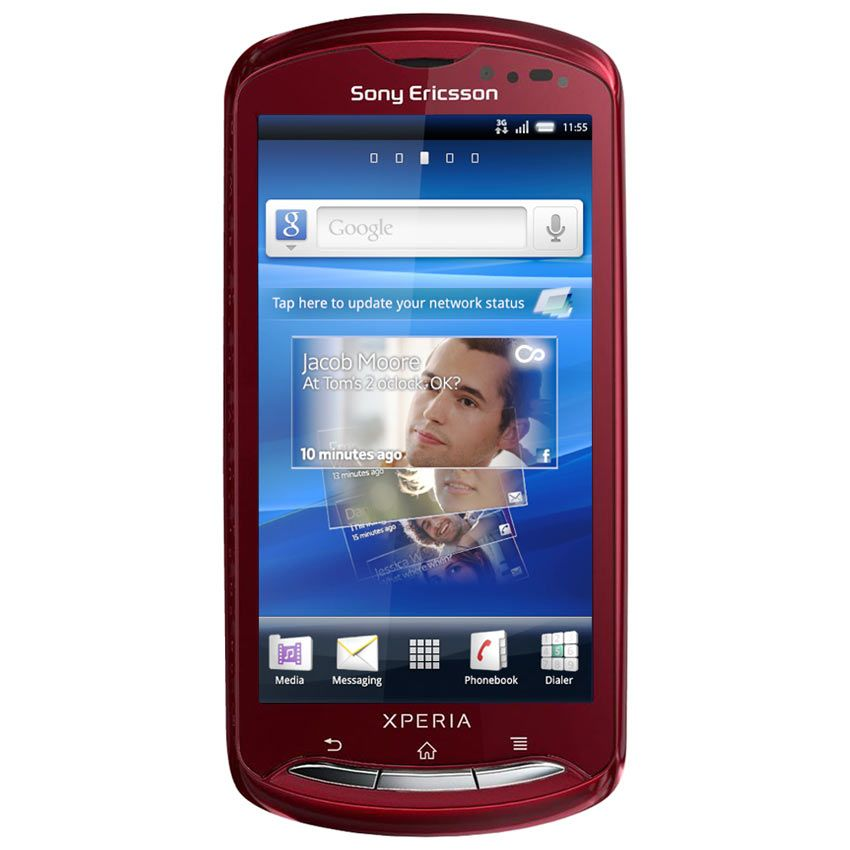 Harga dan Spesifikasi Sony Ericsson Xperia Pro MK16i 1GB Merah