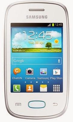 Gambar Samsung Galaxy Y Neo putih